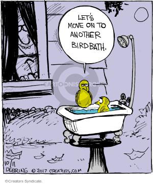 Comic Strip John Deering  Strange Brew 2017-10-11 bird