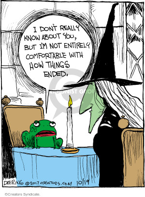 Cartoonist John Deering  Strange Brew 2017-10-19 thing