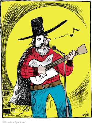 Comic Strip John Deering  Strange Brew 2017-10-21 musical