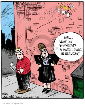Comic Strip John Deering  Strange Brew 2017-10-25 heaven