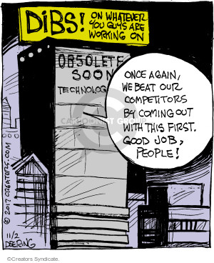 Cartoonist John Deering  Strange Brew 2017-11-02 technology