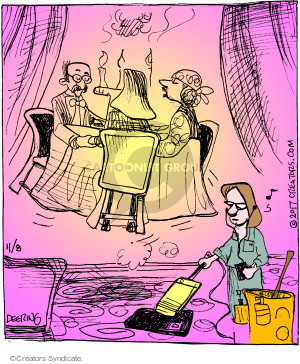Comic Strip John Deering  Strange Brew 2017-11-08 below