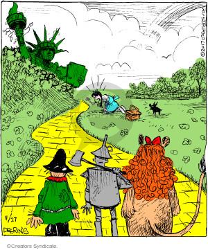 Cartoonist John Deering  Strange Brew 2017-11-27 city