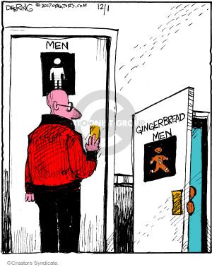 Men. Gingerbread Men.