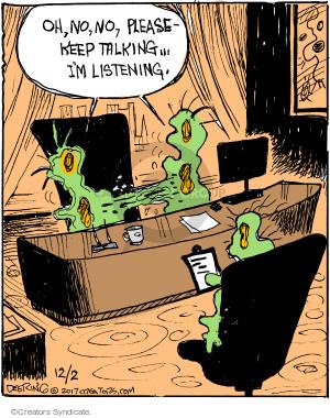 Comic Strip John Deering  Strange Brew 2017-12-02 separate