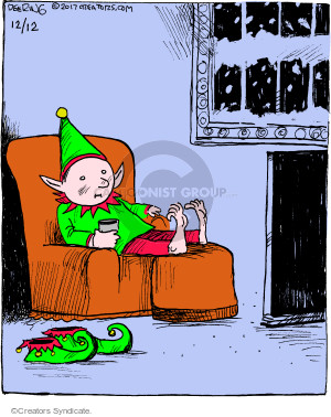 Comic Strip John Deering  Strange Brew 2017-12-12 television cartoon