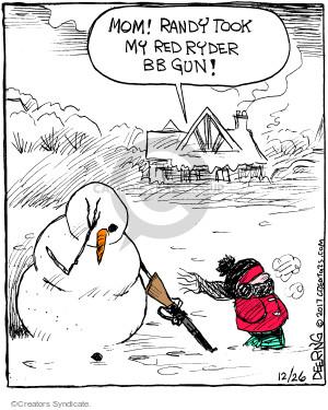 Cartoonist John Deering  Strange Brew 2017-12-26 Christmas
