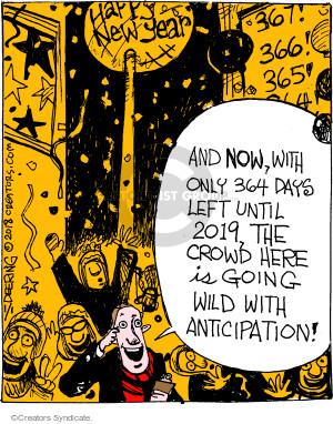 Comic Strip John Deering  Strange Brew 2018-01-01 drop
