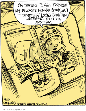 Cartoonist John Deering  Strange Brew 2018-01-26 book
