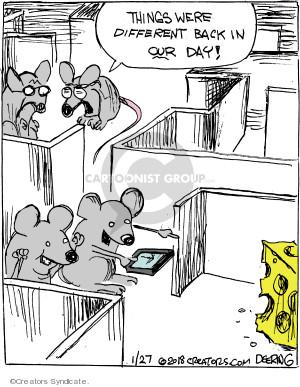 Cartoonist John Deering  Strange Brew 2018-01-27 technology
