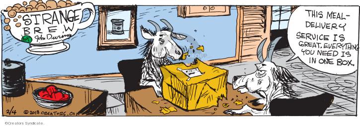 Cartoonist John Deering  Strange Brew 2018-02-04 John