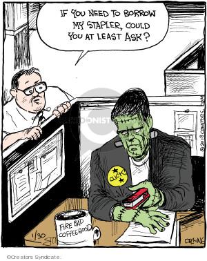 Comic Strip John Deering  Strange Brew 2018-01-30 borrow
