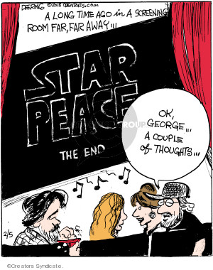 Cartoonist John Deering  Strange Brew 2018-02-05 John