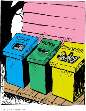 Comic Strip John Deering  Strange Brew 2018-02-06 strip