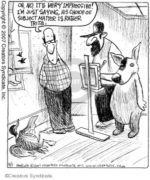 Comic Strip John Deering  Strange Brew 2007-08-07 artist