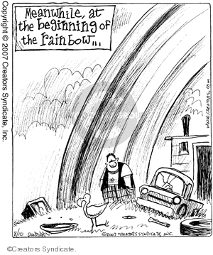 Cartoonist John Deering  Strange Brew 2007-08-10 tale