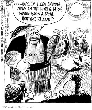 Comic Strip John Deering  Strange Brew 2007-08-15 zoo