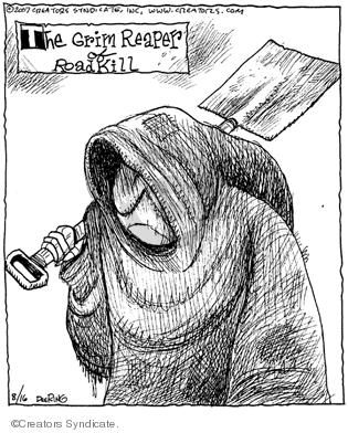 Comic Strip John Deering  Strange Brew 2007-08-16 kill