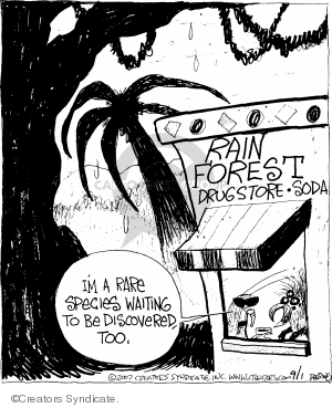 Comic Strip John Deering  Strange Brew 2007-09-01 insect
