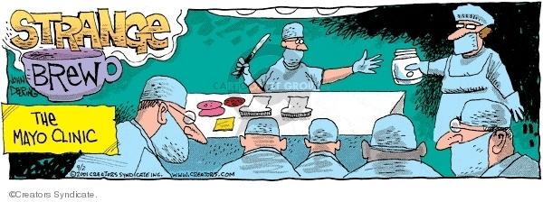 Comic Strip John Deering  Strange Brew 2007-09-02 health care