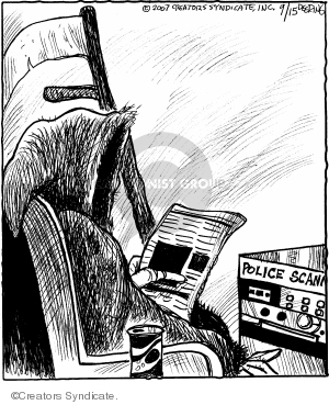 Comic Strip John Deering  Strange Brew 2007-09-12 tragedy