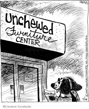 Comic Strip John Deering  Strange Brew 2007-09-15 dog