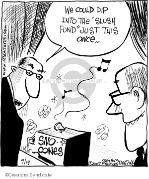Comic Strip John Deering  Strange Brew 2007-09-19 sweets