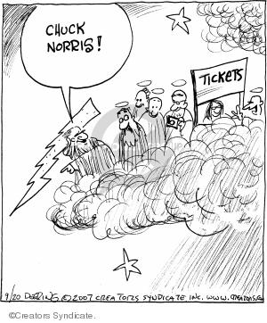 Comic Strip John Deering  Strange Brew 2007-09-20 God
