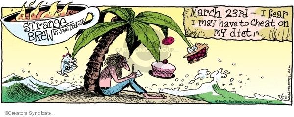 Comic Strip John Deering  Strange Brew 2007-09-23 sweets