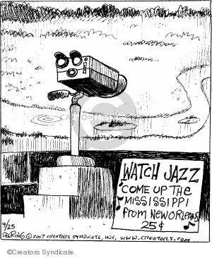 Comic Strip John Deering  Strange Brew 2007-09-25 cent