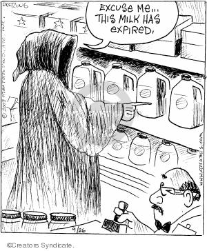 Comic Strip John Deering  Strange Brew 2007-09-26 store