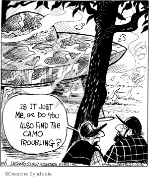 Comic Strip John Deering  Strange Brew 2007-10-01 hostility