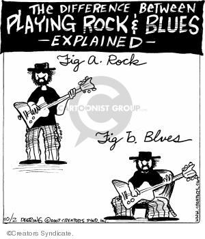 Comic Strip John Deering  Strange Brew 2007-10-02 playing