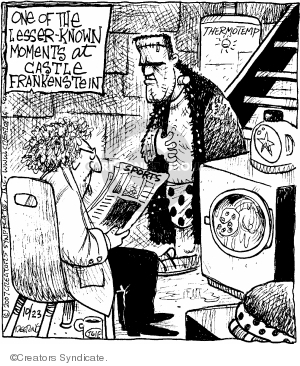 Comic Strip John Deering  Strange Brew 2007-10-23 1930s