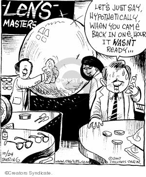 Comic Strip John Deering  Strange Brew 2007-10-24 big