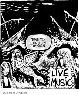 Cartoonist John Deering  Strange Brew 2007-10-27 Greek mythology