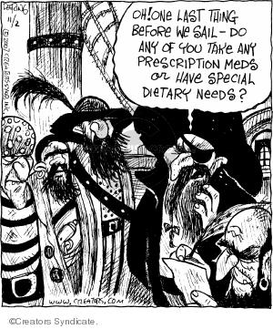 Comic Strip John Deering  Strange Brew 2007-11-02 drug