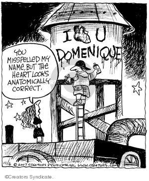 Comic Strip John Deering  Strange Brew 2007-11-06 paint