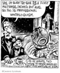 Cartoonist John Deering  Strange Brew 2007-12-28 3am