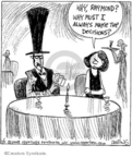 Comic Strip John Deering  Strange Brew 2008-01-11 top hat