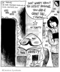 Comic Strip John Deering  Strange Brew 2008-01-15 horse