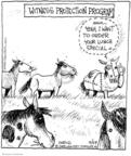 Comic Strip John Deering  Strange Brew 2008-04-29 horse