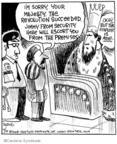 Cartoonist John Deering  Strange Brew 2008-07-10 lose