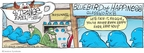 Cartoonist John Deering  Strange Brew 2008-07-13 bluebird