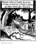 Cartoonist John Deering  Strange Brew 2008-08-01 cheese