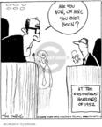 Cartoonist John Deering  Strange Brew 2008-10-28 1950s