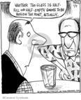Cartoonist John Deering  Strange Brew 2008-11-07 optimism
