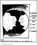 Cartoonist John Deering  Strange Brew 2008-12-27 climate