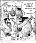 Cartoonist John Deering  Strange Brew 2009-01-17 league
