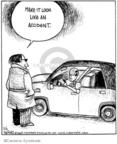 Cartoonist John Deering  Strange Brew 2009-02-02 crash